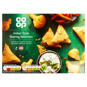 Co-op Indian Style Sharing Selection 220g - Gluten Free