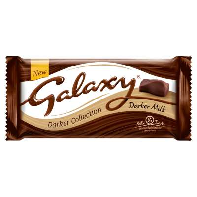 Galaxy Darker Collection Darket Milk Chocolate Bar 110g