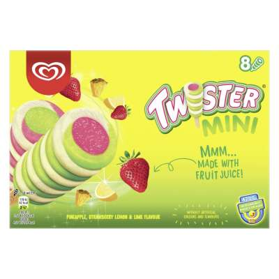 Walls 8 Mini Twister 400ml