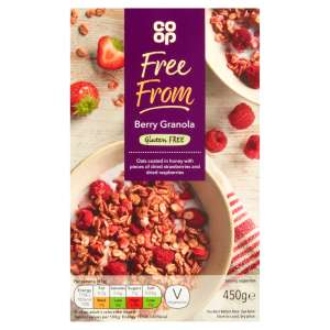 Co-op Free From Berry Granola 450g - Gluten Free