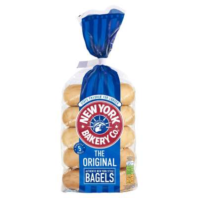 New York Original Bagels 5 Pack