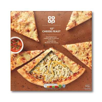 Co-op 12 Inch Cheese Feast Pizza 400g