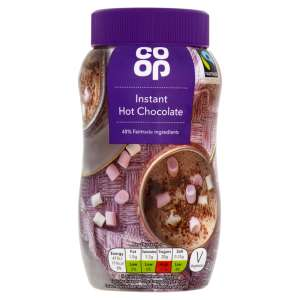 Co-op Fairtrade Instant Hot Chocolate 400g