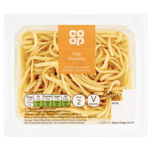 Co-op Free Range Egg Noodles 250g