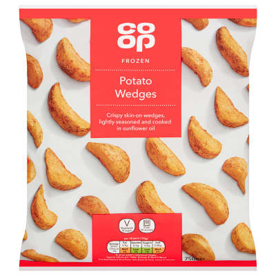 Co-op Lightly Spiced Wedges 750g