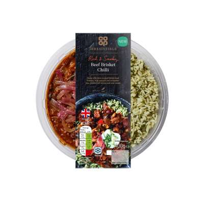 Co-op Irresistible Beef Brisket Chilli 400g