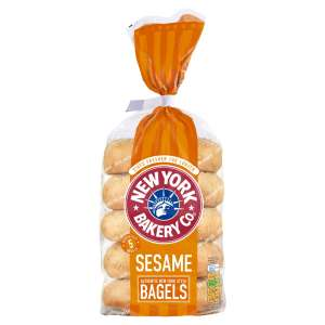 New York Bagels Sesame 5 Pack