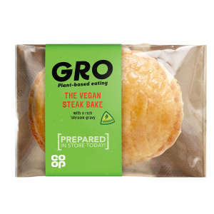 GRO The Vegan Steak Bake 133g
