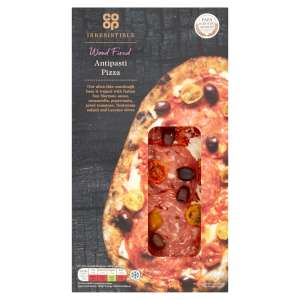 Co-op Irresistible Wood Fired Antipasti Pizza 254g