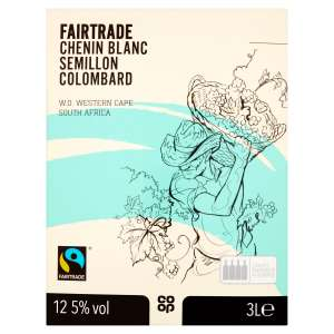Co-op Fairtrade White Blend Box 3 ltr