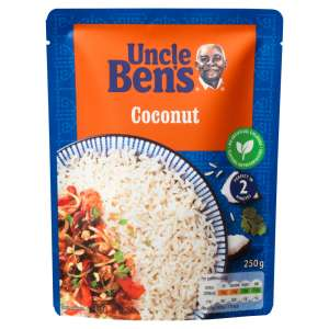 Uncle Bens Microwave Rice Special Coconut Rice 250g