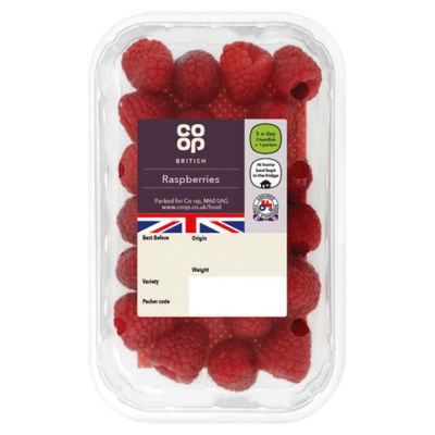 Co-op Raspberries Punnet