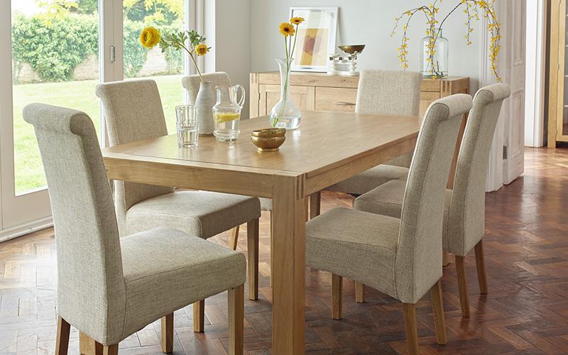 Contemporary Dining Room Create A Modern Space Oak Furnitureland