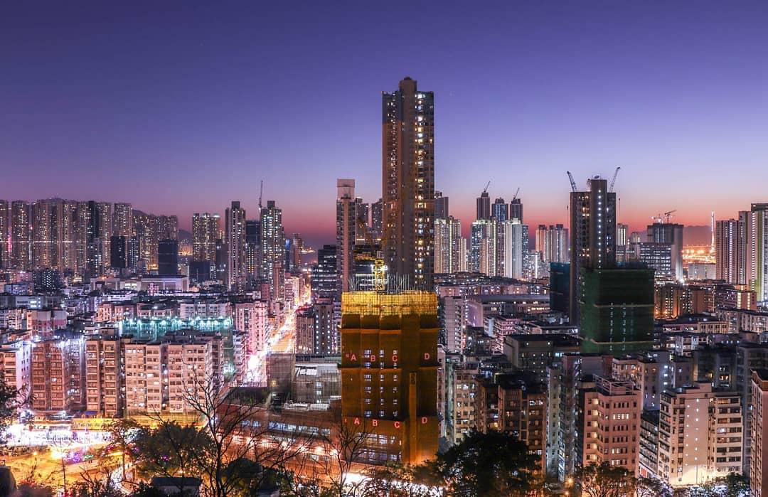 Hong Kong Sham Shui Po Garden Hill 嘉頓山