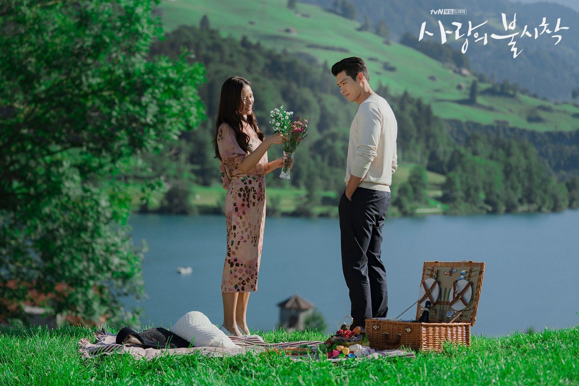 Crash Landing On You Lake Lungern Ri Jeong Hyeok Yoon Se Ri
