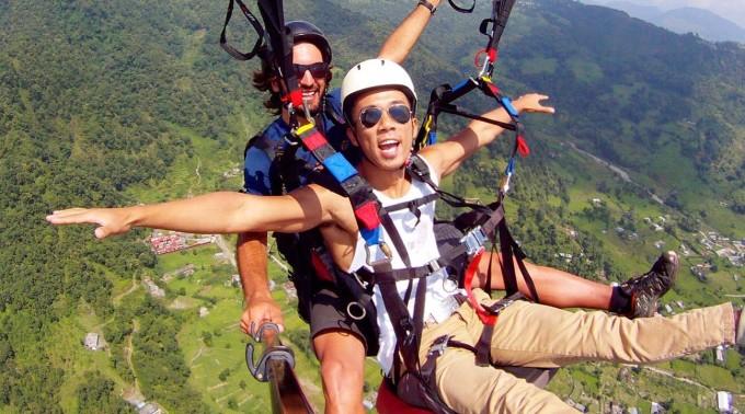 Ethan Paragliding
