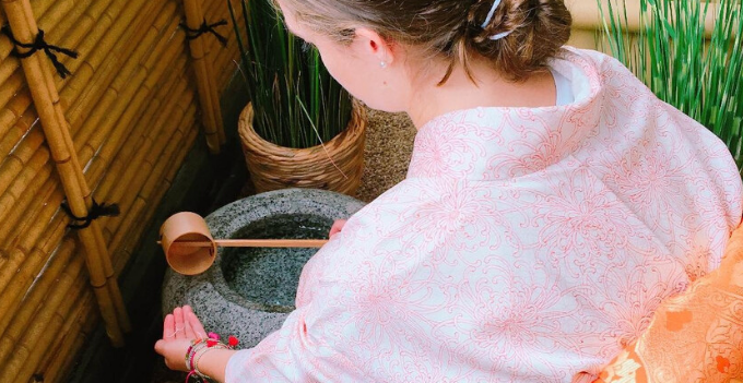 matcha tea experience kimono rental hiroshima okayama shikoku