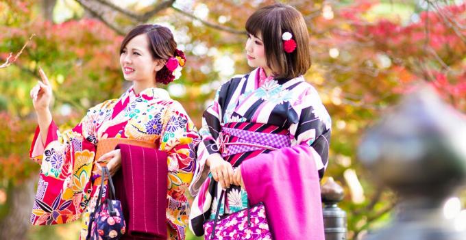 kanazawa nagoya kimono experience photography ladies japan