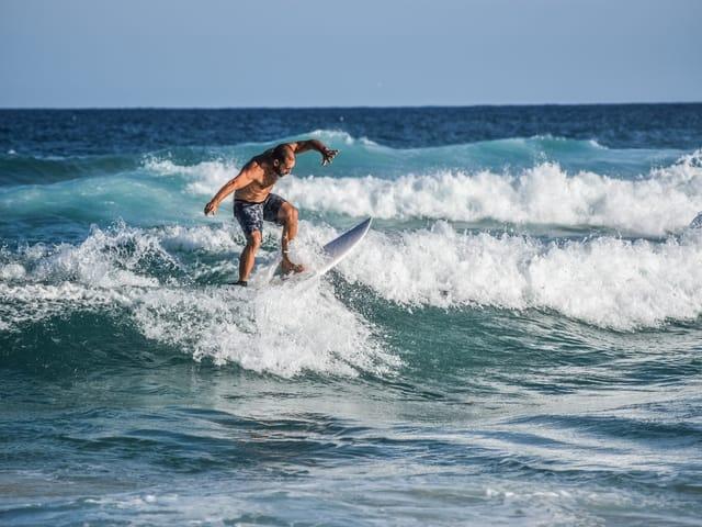 australia bondi beach surfer beach sea
