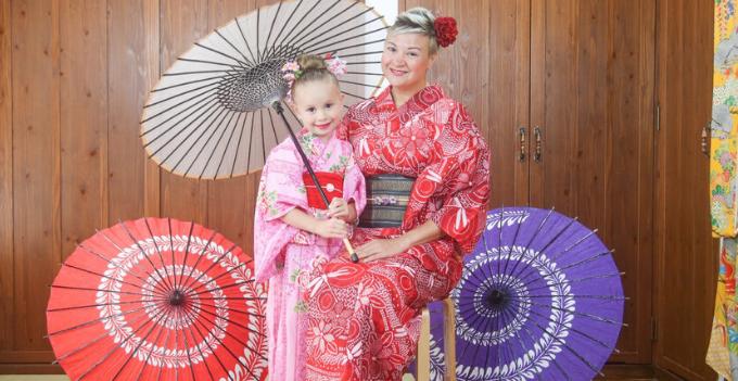 japan okinawa traditional kimono rental experience photography city tour walk