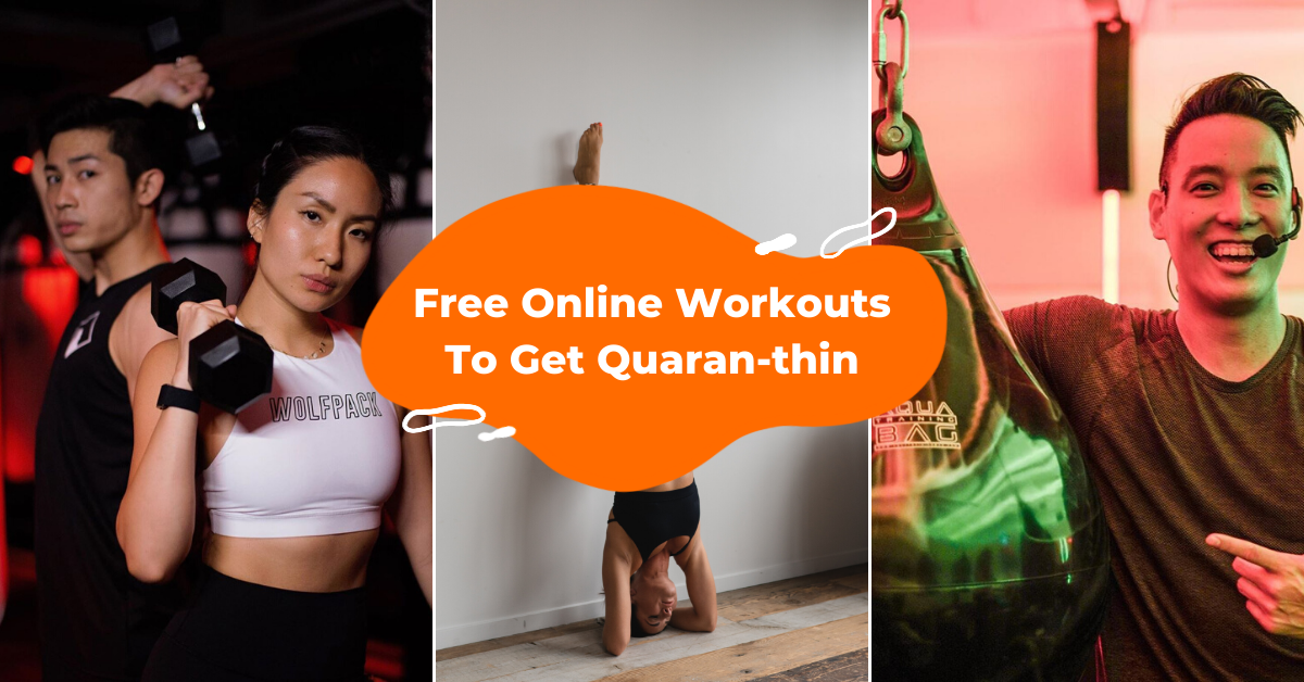 free online workout singapore