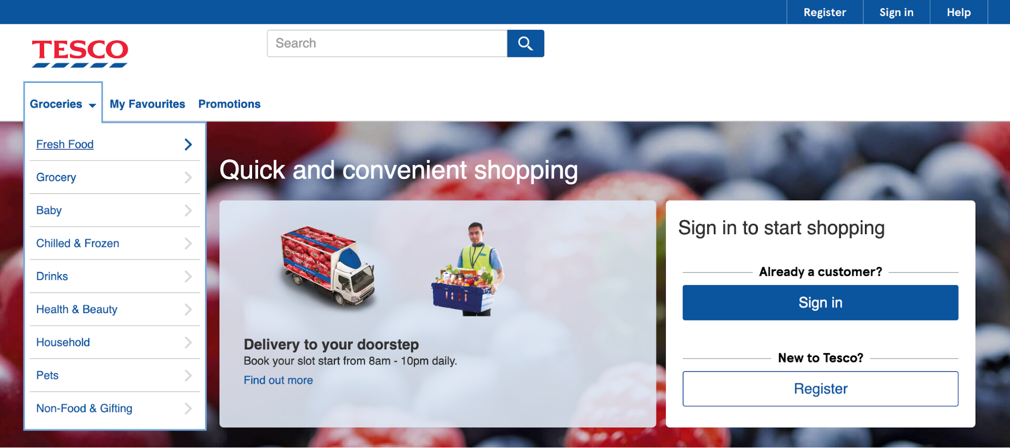 tesco online delivery malaysia