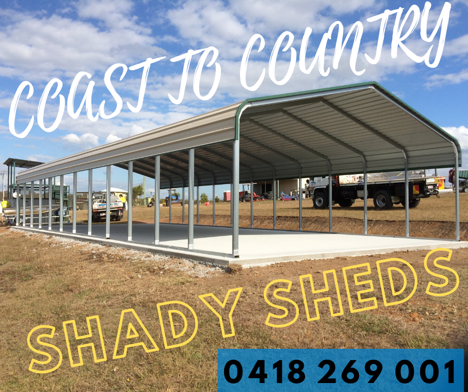 Logo for Coast to Country Shady Sheds
