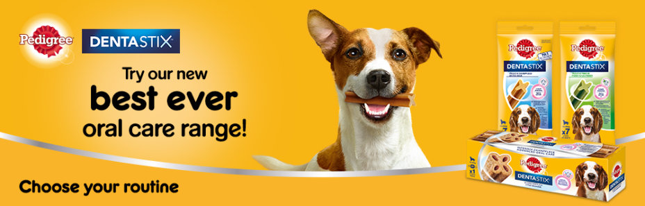 Dentastix - best oral care range!