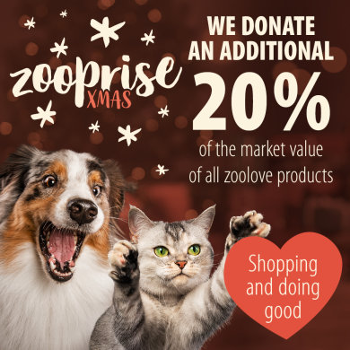 20% Charitable donation from all zoolove orders!