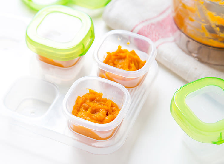 Can I Steam Sweet Potatoes For Baby Food