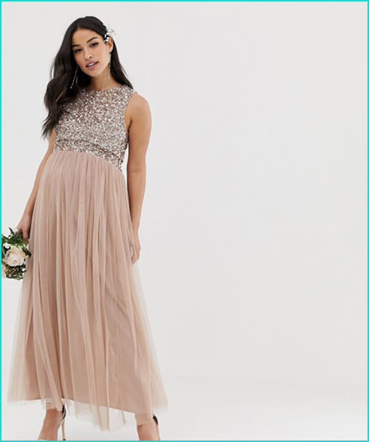 49fe98103 27 Maternity Bridesmaid Dresses for Any Style and Size