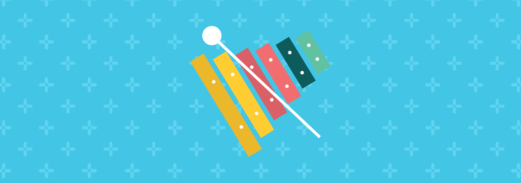 colorful xylophone instrument