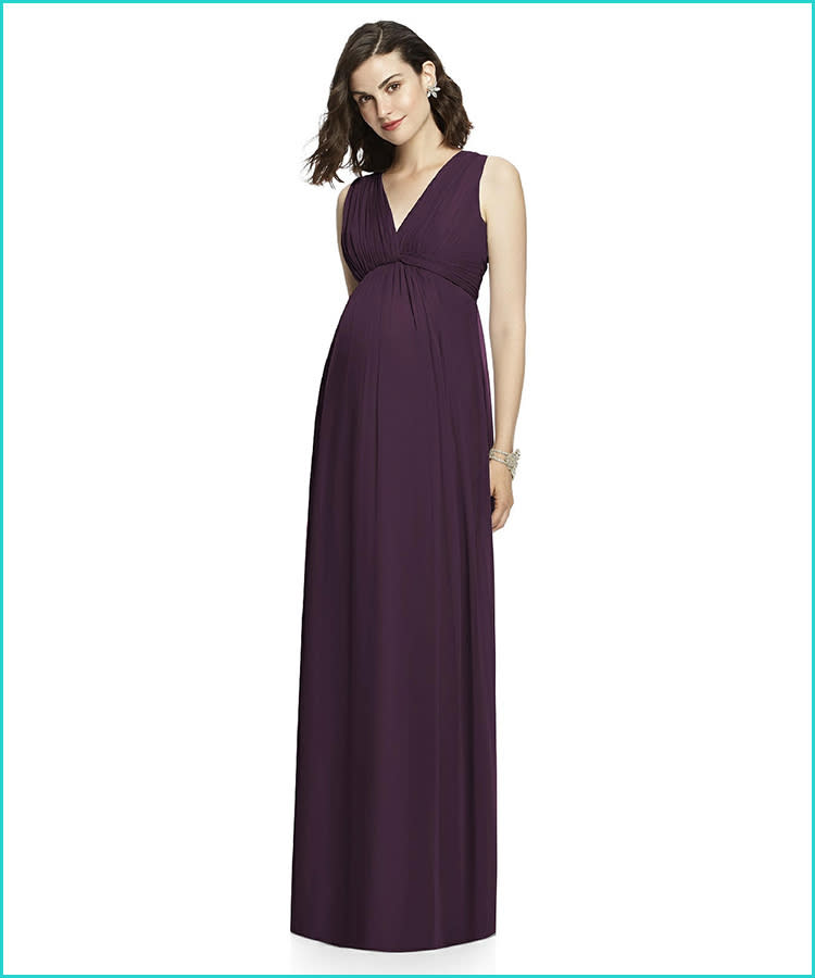 cac8305e37 27 Maternity Bridesmaid Dresses for Any Style and Size