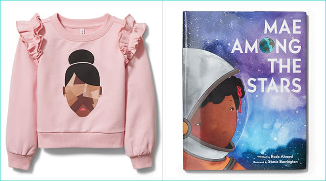 children's brand janie and jack features black owned businesses, pictured here are some of those products
