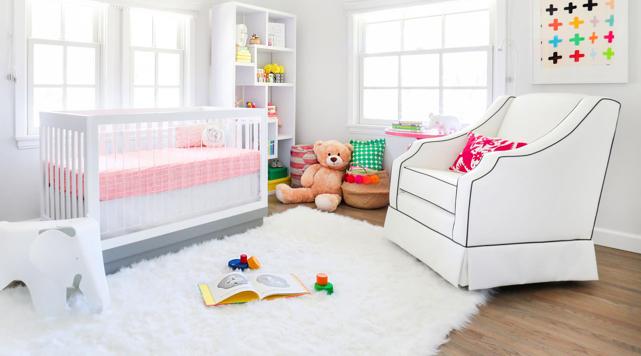 beautiful organized nursery