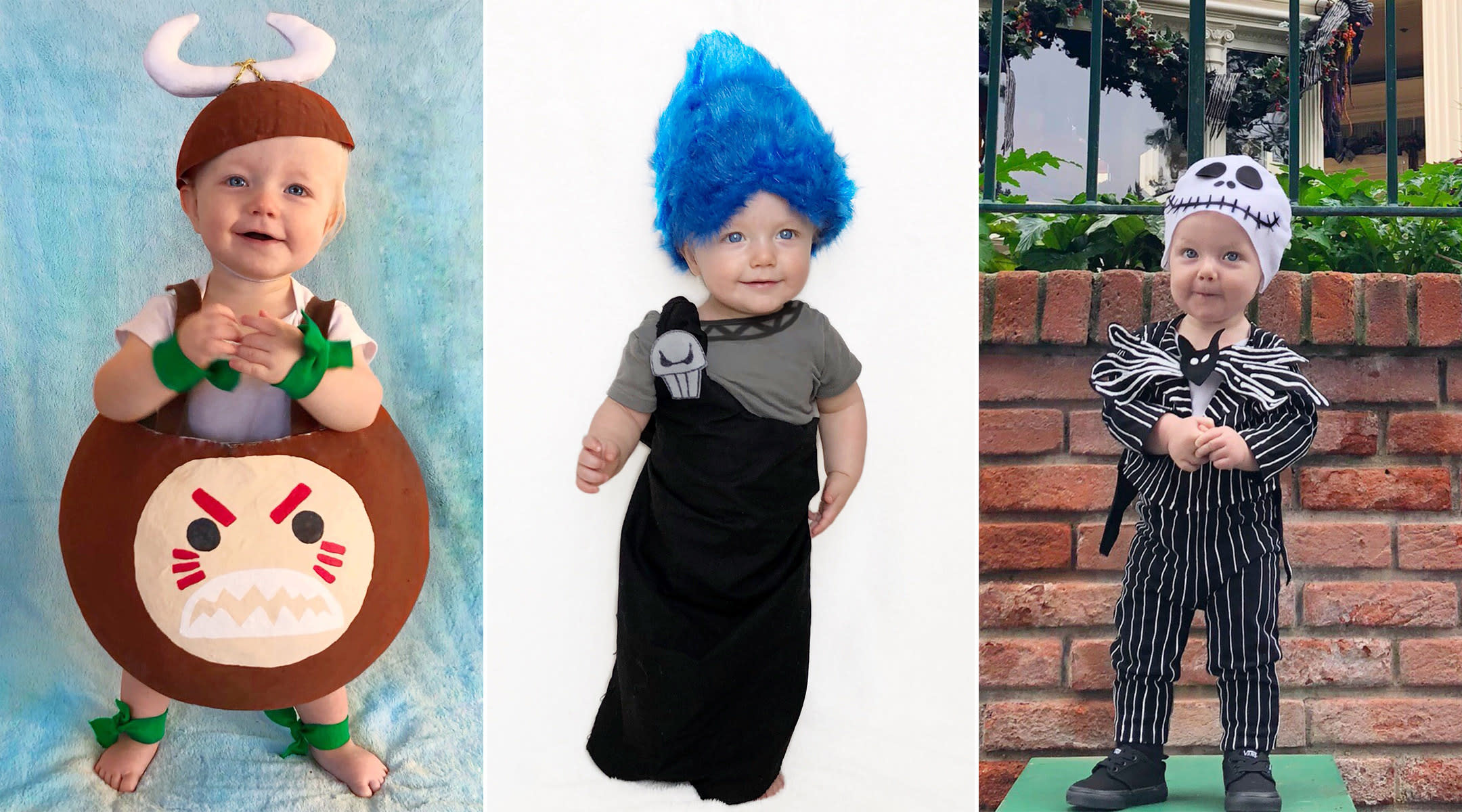 Dad Dresses His Toddler as Different Disney Villains for October