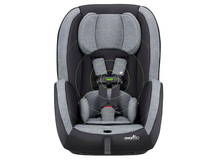Best Affordable Convertible Car Seat Evenflo Advanced Sensorsafe An 65