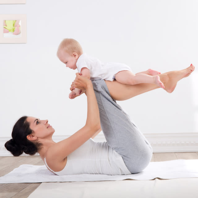 10 Exercises to Do With Baby