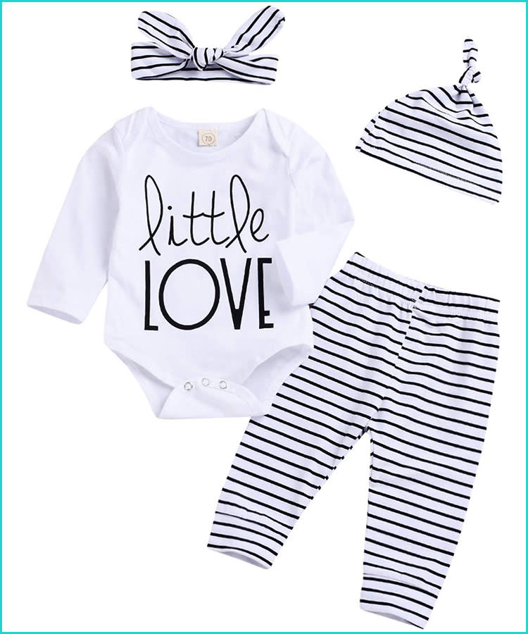 c0f7f5270 20 Valentine's Day Baby Outfits That'll Melt Your Heart