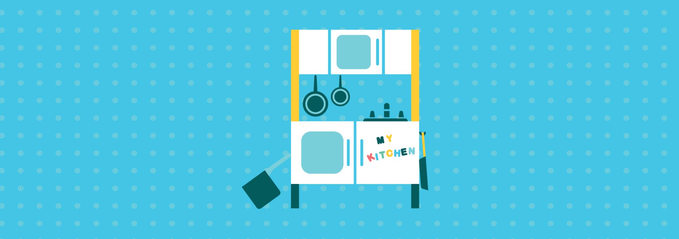 toddler play kitchen set