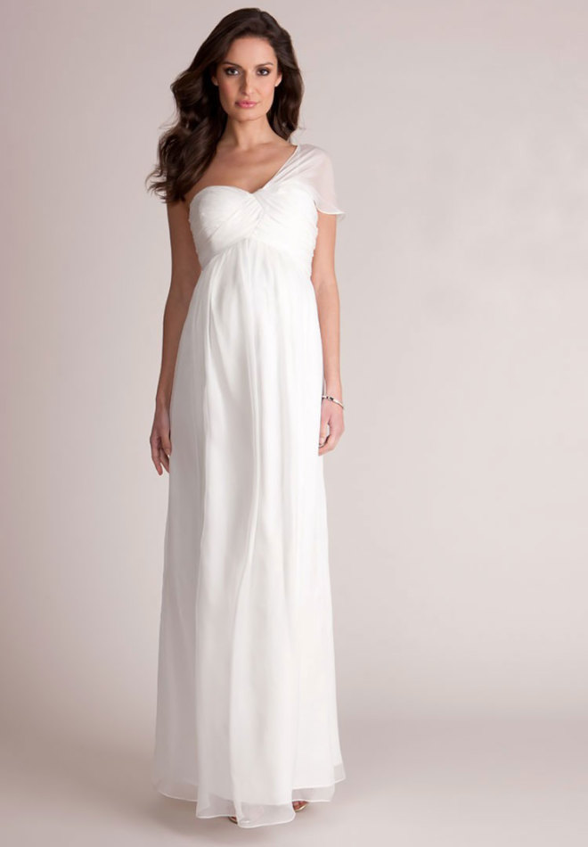 23 maternity wedding dresses seraphine grecian maternity wedding gown junglespirit Image collections