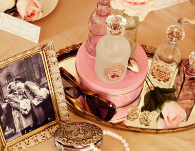 Beautifully vintage themed baby shower ideas for Vintage theme ideas