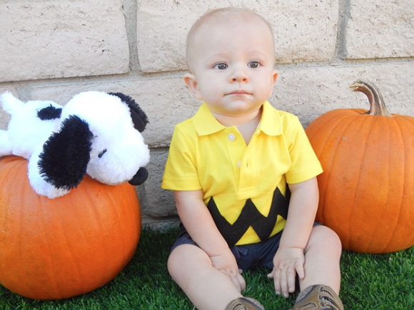 charlie brown infant halloween costume ideas photo gallery baby bryone