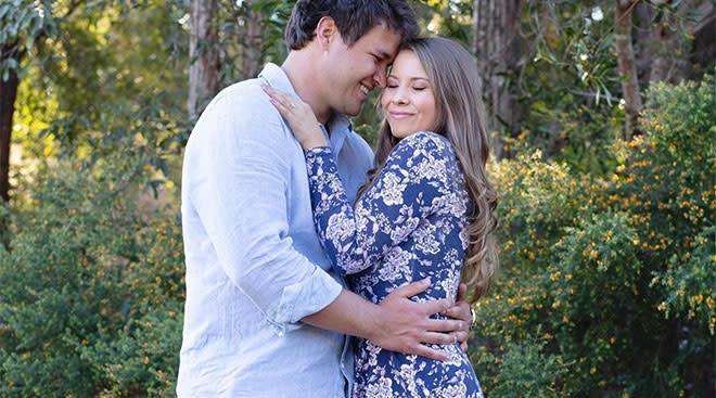 bindi Erwin announces her pregnancy