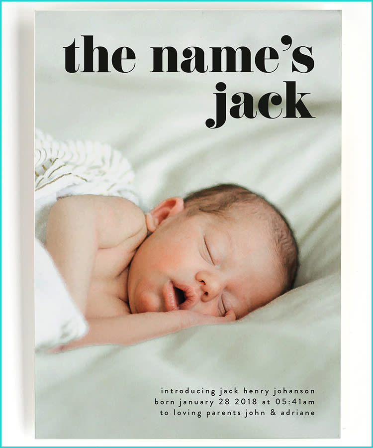 Newborn Baby Announcement Sms To