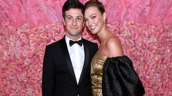 Celebrity couple Joshua Kushner and Karlie Kloss