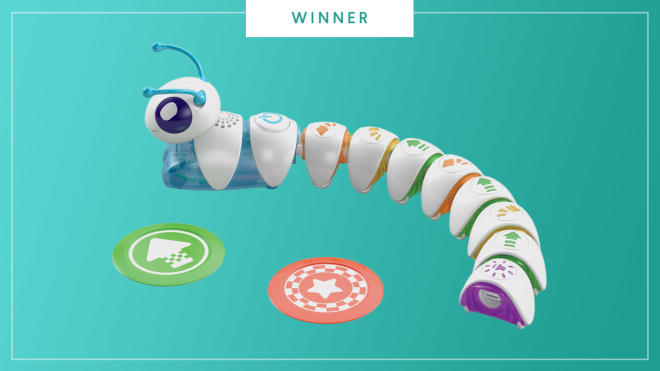 Fisher-Price Code-a-Pillar toy wins the 2017 Best of Baby Tech Award from The Bump.
