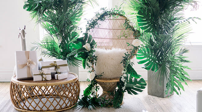jungle themed decorations for baby shower