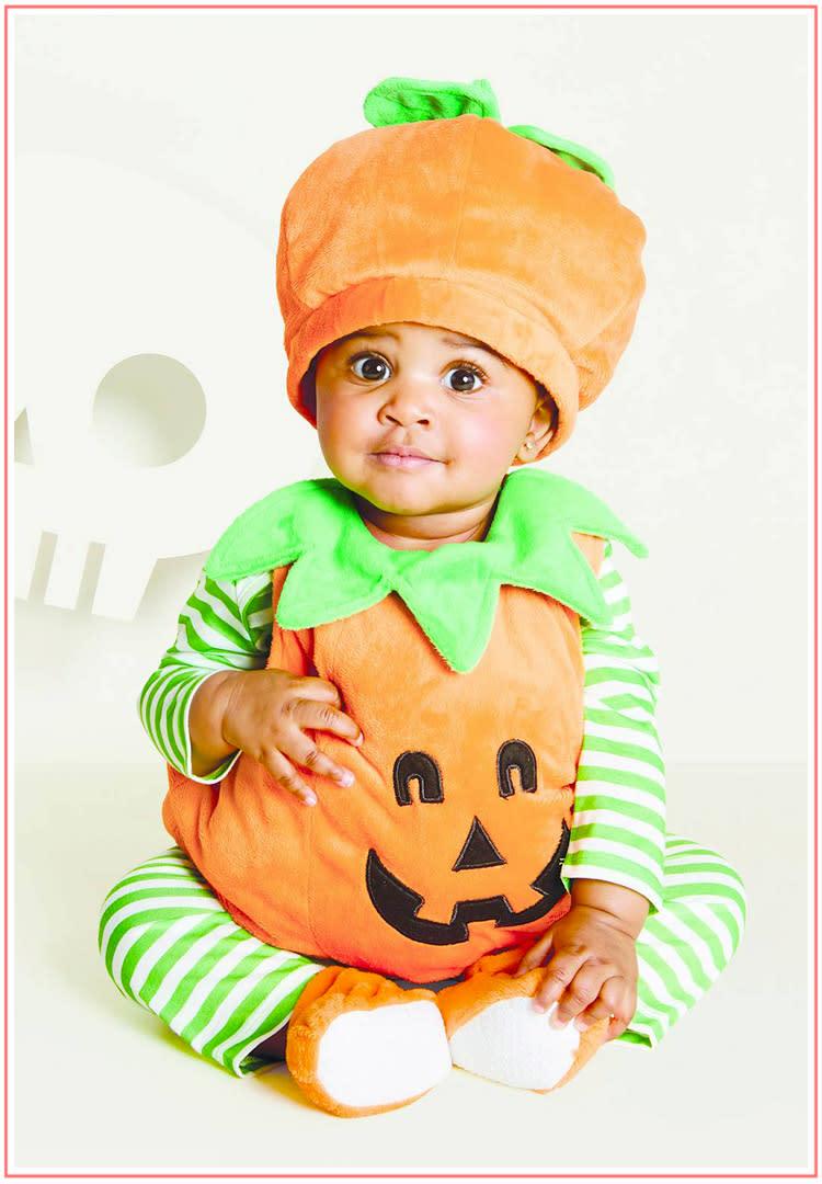 baby halloween costumes cute pumpkin
