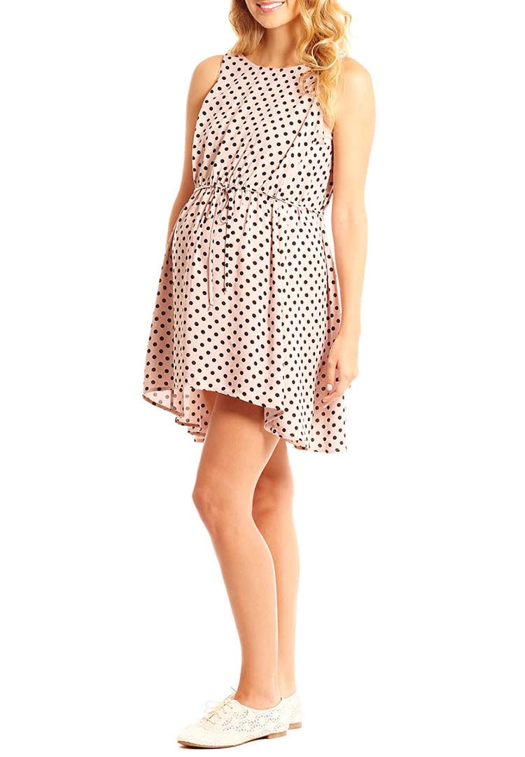 1aaee7cfaef Everly Grey cute summer maternity dress
